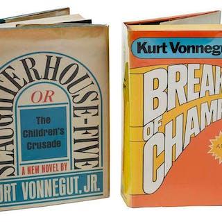 Pair of Novels by Kurt Vonnegut, Jr.