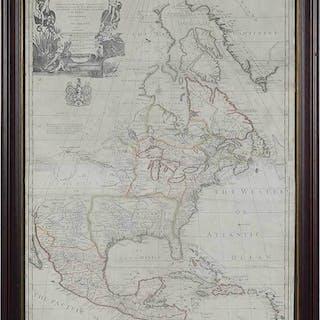 John Senex Map of North America