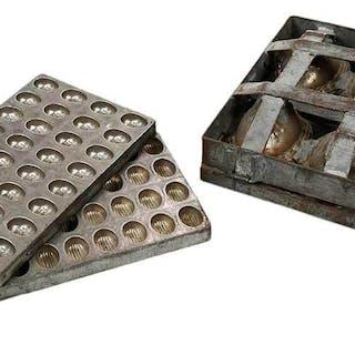 Three Vintage Chocolate Molds