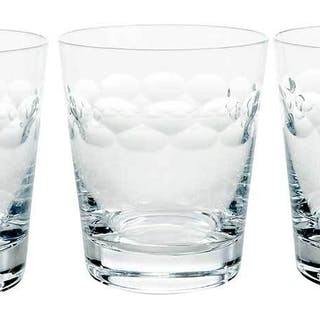 Set of 12 Faberge Glass Tumblers