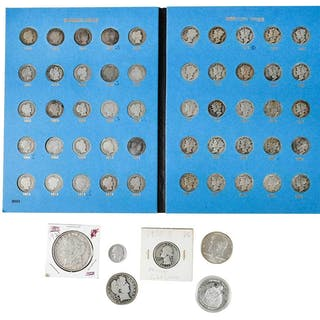 Group of Silver U.S. Coinage