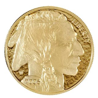 2006-W Gold Proof Buffalo One-Ounce Coin