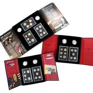 Ten U.S. Mint American Legacy Coin Sets
