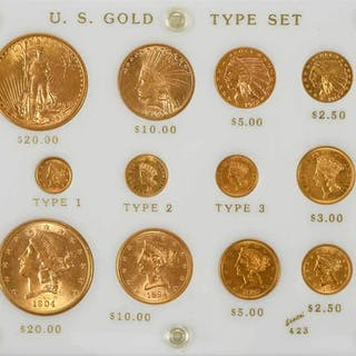 U.S. Gold Coin Type Set