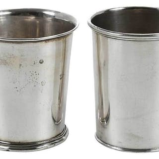 Two Kentucky Coin Silver Juleps