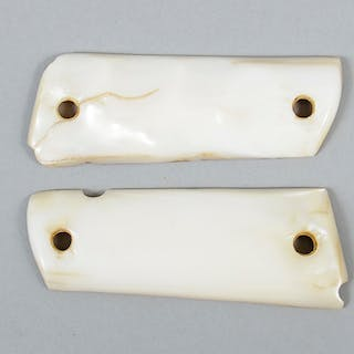 Pair Mother of Pearl 1911 Grips