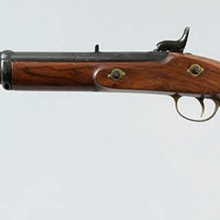 Narain Jagannath Sikligar Black Powder Rifle