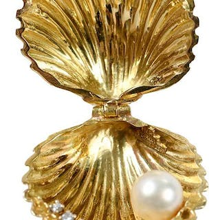 Tiffany, Schlumberger 18kt. Brooch