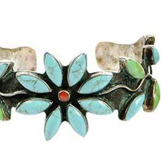 Three Sterling Silver Gemstone Bracelets