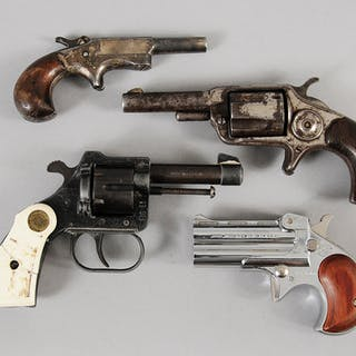 Four Assorted Small Pistols