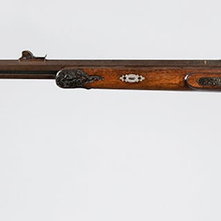 German Percussion Target and Sporting Rifle by Wurfflein