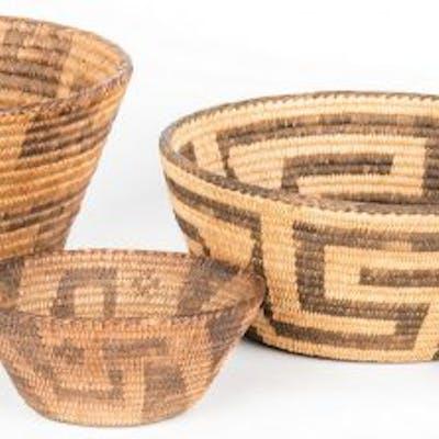 6 Native American Southwest Baskets