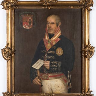 Portrait of a Spanish Colonial Officer