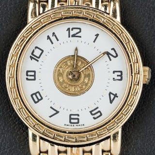 Lady's 18k Hermes Sellier Wrist Watch