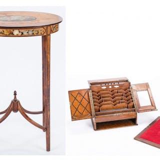 2 Edwardian Furniture Items