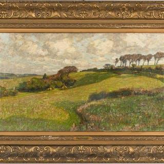 William Wendt O/C Landscape, Exhibited