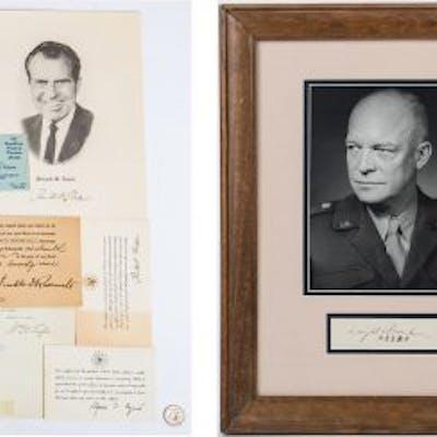 20th Century Presidential Ephemera, 15 items