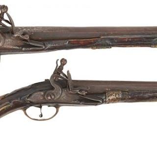 2 Flintlock Pistols, Gen. Jackson, Ambrister and Arbuthnot history