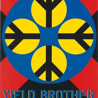 ROBERT INDIANA (1928-2018) Yield Brother