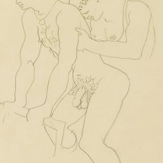 JEAN GENET (1910-1986) ; and JEAN COCTEAU (1889-1963) Querelle de Brest