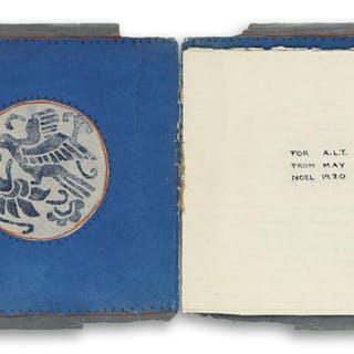 MAY SARTON (1912-1995) Handmade book containing seven manuscript love poems