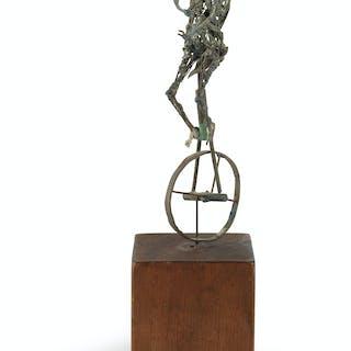 RICHARD HUNT (1935 - ) Unicycle