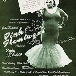JOHN WATERS (1946- ) Group of 11 movie premiere fliers