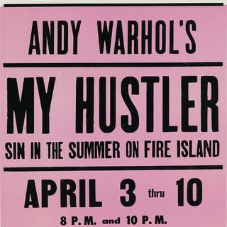 ANDY WARHOL (1928-1987) My Hustler