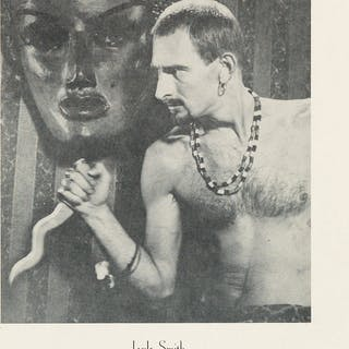 JACK SMITH (1932-1989) Group of 5 flyers for Smith film screenings and events