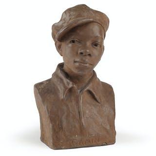 AUGUSTA SAVAGE (1892 - 1962) Gamin