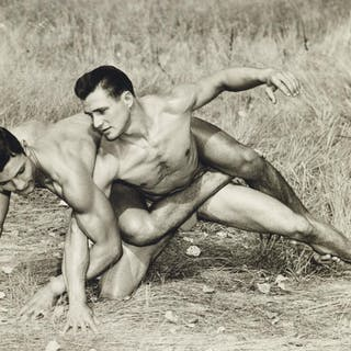 (WESTERN PHOTOGRAPHY GUILD) A collection of 63 male...