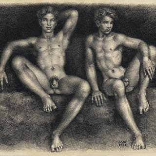 GASTON GOOR (1902-1977) Two Nudes