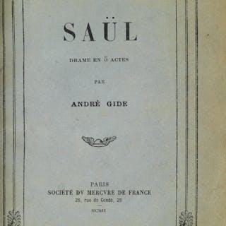 ANDRE GIDE (1869-1951) Saül