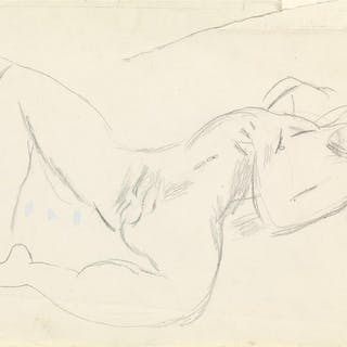 DUNCAN GRANT (1885-1978) Two Sketches