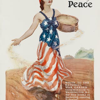 JAMES MONTGOMERY FLAGG (1870-1960) THE SEEDS OF VICTORY...