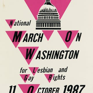 DESIGNERS UNKNOWN March on Washington