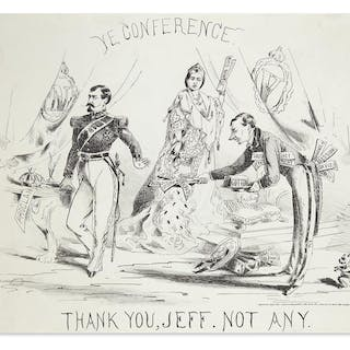 (CIVIL WAR--CONFEDERATE.) Ye Conference: Thank You