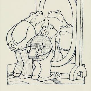 "ARNOLD LOBEL (1933-1987) ""`We look brave,' said Frog"