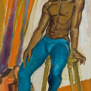 RAOUL PÈNE DU BOIS (1914-1985) Artist's Model