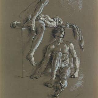 PAUL CADMUS (1904-1999) Dancers Resting