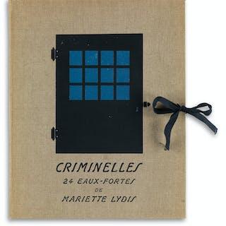 MARIETTE LYDIS (1887-1970) Criminelles