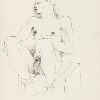 JEAN COCTEAU (1889-1963) Original sketchbook