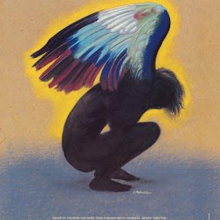 MILTON GLASER (1929- ) Angels in America
