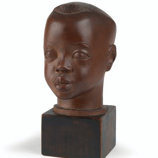 SARGENT JOHNSON (1988 - 1967) Head of a Negro Boy