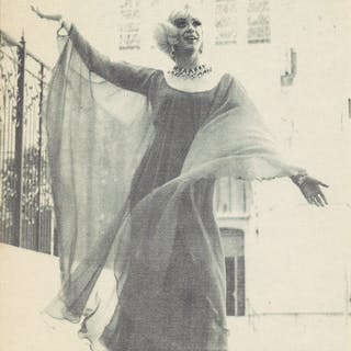 SAN FRANCISCO DRAG SCENE 1970s Collection of flyers and...