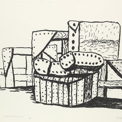 PHILIP GUSTON Studio Forms