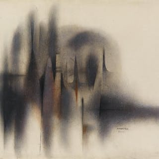 NORMAN LEWIS (1909 - 1979) Untitled (Abstract Composition)