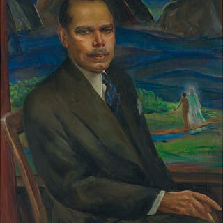 LAURA WHEELER WARING (1887 - 1948) James Weldon Johnson