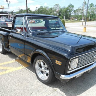 C10 Short Bed Stepside 1972 Chevrolet