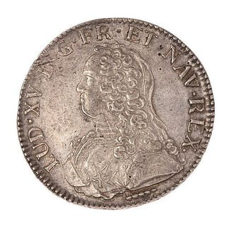 Louis XV (1715-1774) Ecu aux lauriers 1726 X. Dup. : 1675. TTB à SUP.